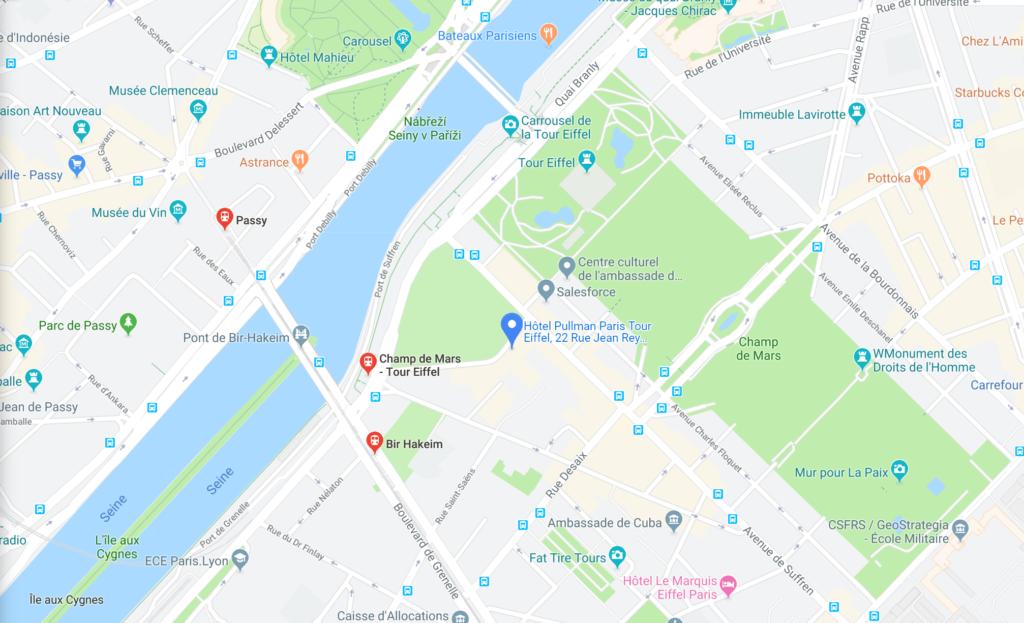 Map Venue FTD 2019